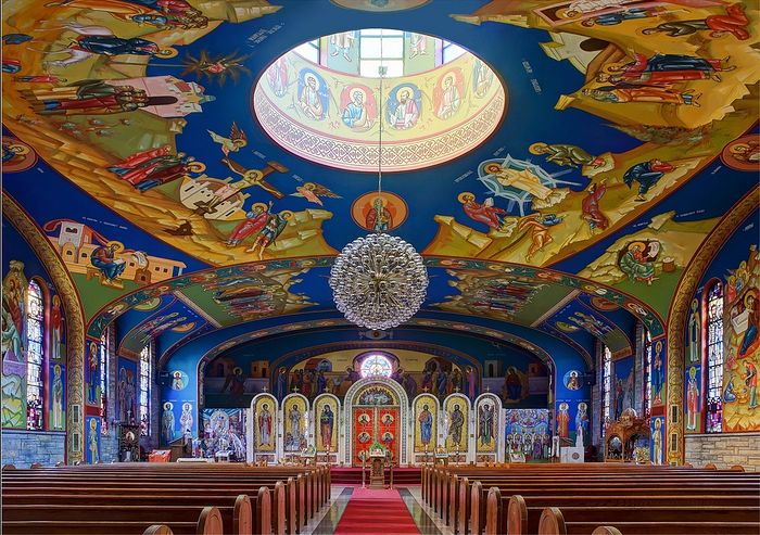 Holy Resurrection Serbian Orthodox Cathedral, Chicago. Photo: flickr.com