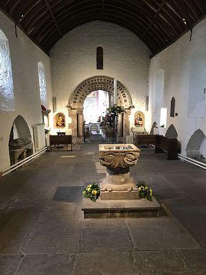 Галилейская часовня в Ньюпортском кафедральном соборе (любезно предоставлено администратором Ньюпортского собора)