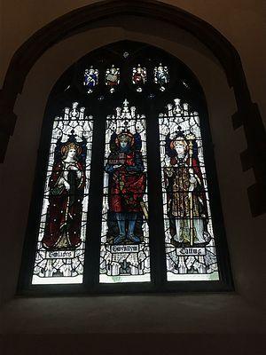 Святое семейство ‒ свв. Кадок с его родителями Гвинлливом и Гладис