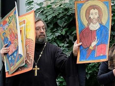 На конференции «Свобода и ответственность церковного художника» принята резолюция «О церковном иконописании»