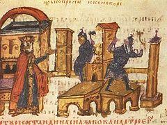 Гонения на почитателей икон при Константине Копрониме