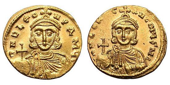 Лев III Исавр и его сын Константин V