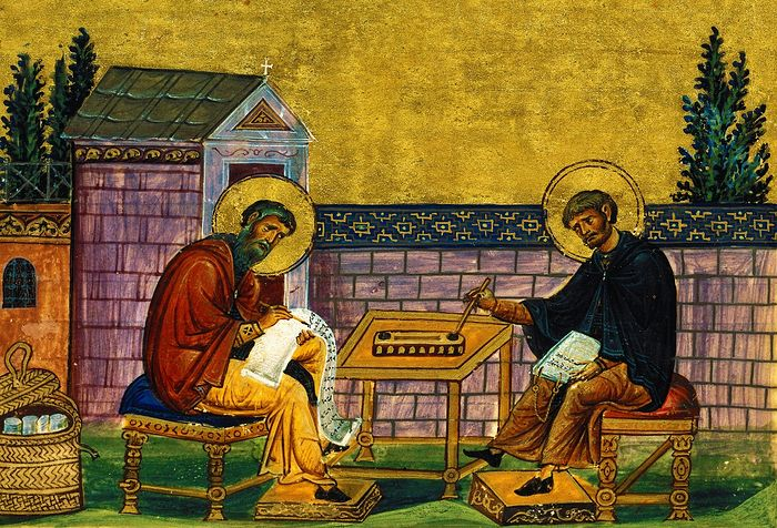 Иоанн Дамаскин и Косьма Майумский