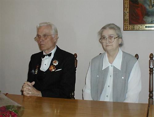 М.С.Литвиненко с супругой Людмилой Васильевной
