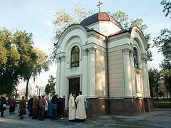 Two churches in Zaporozhye vandalized with Nazi symbols