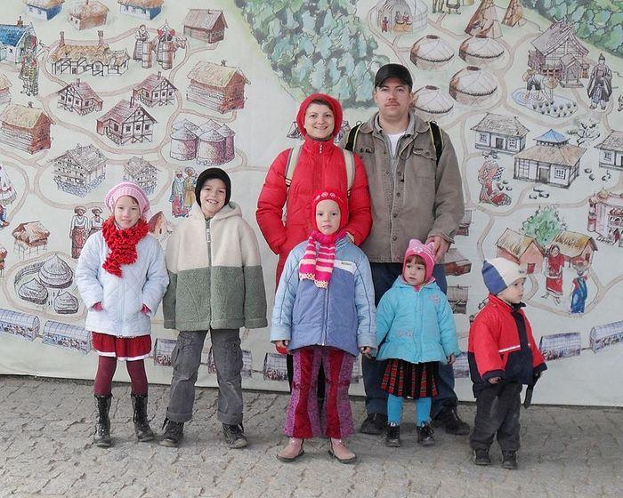 Семья Поваровых