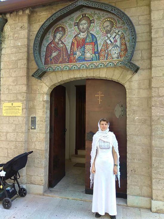 Лариса Поварова в Бари
