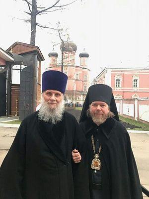 Протопресвитер Владимир Диваков и митрополит Тихон (шевкунов)