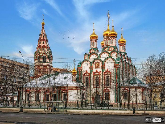 Храм Святителя Николая Мирликийского, что в Хамовниках