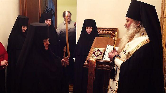 Монашеский постриг монахини Людмилы