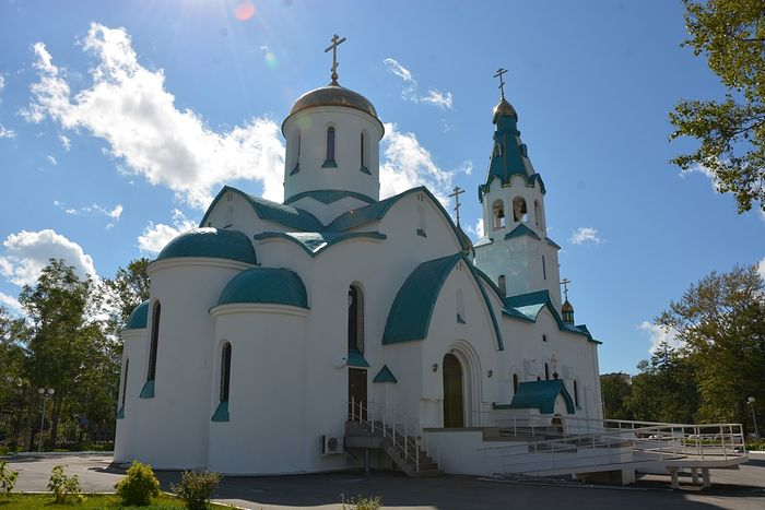 Воскресенский собор Южно-Сахалинска. Фото: Антон Поспелов / Православие.Ru