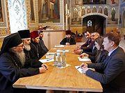 В Почаевской лавре прошла встреча с представителями мониторинговой миссии ОБСЕ на Украине