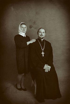 Отец Сергий и матушка Арина