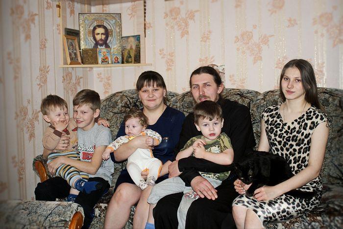Семья Шувакиных. Всю семью в сборе застать не удалось