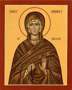 An Icon of St. Brigid of Kildare