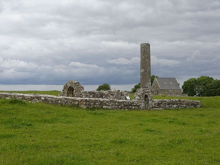 Churches of Sts. Caimin and Brigid on Inis Cealtra