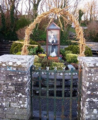 St. Brigid's well near Liscannor