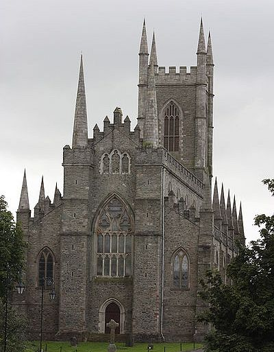 The Holy Trinity Cathedral in Downpatrick