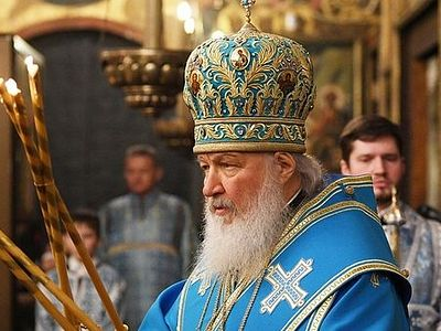 Патриарх Кирилл: Без реальной встречи с Богом, верующий человек не может существовать / Православие.Ru