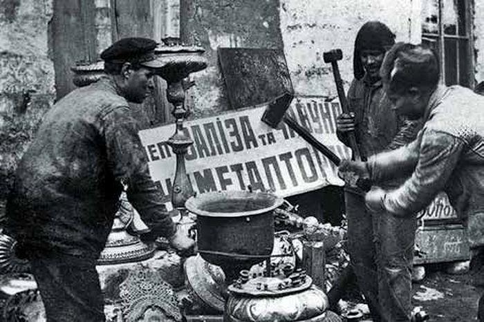 Кампания по изъятию церковных ценностей. 1922 г.