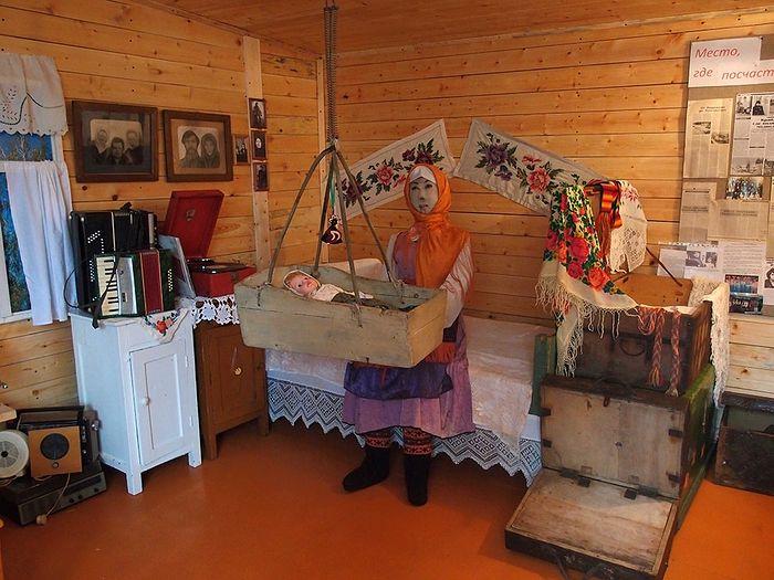 В музее Медвежской представлены подлинные вещи староверов