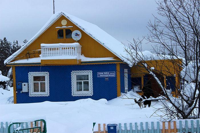 Дом Раисы Павловны Молодовой