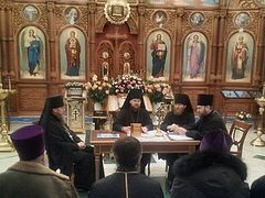 Kiev Diocese declares loyalty to canonical Ukrainian Church and primate