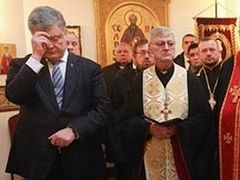 Poroshenko attends Constantinople-Uniate concelebration in New Jersey