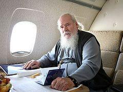 Спецрейс для Святейшего Патриарха