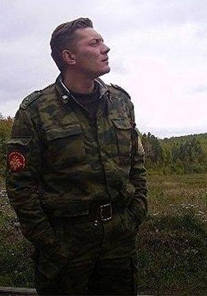 Майор Владимир Чупин