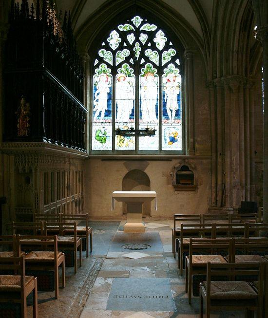 Придел Богородицы в соборе Крайст-Черч, Оксфорд (фото любезно предоставлено - Judith Curthoys)