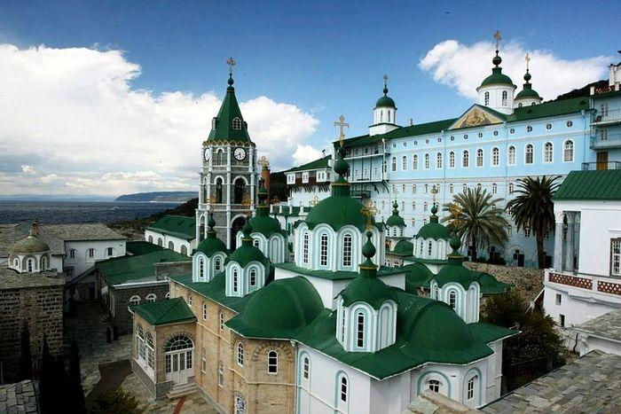 Монастырь Святого Пантелеимона на Афоне