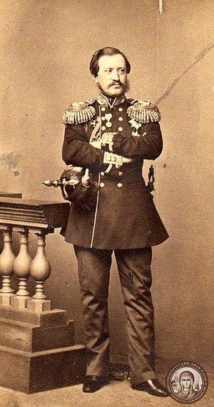 Граф Н.П. Игнатьев, 1860-е годы
