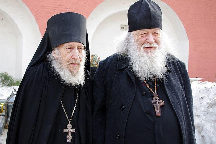 Протоиерей Валериан Кречетов и иеросхимонах Валентин (Гуревич)