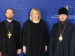 Представитель Украинской Православной Церкви при международных европейских организациях провел встречи в Совете Европы