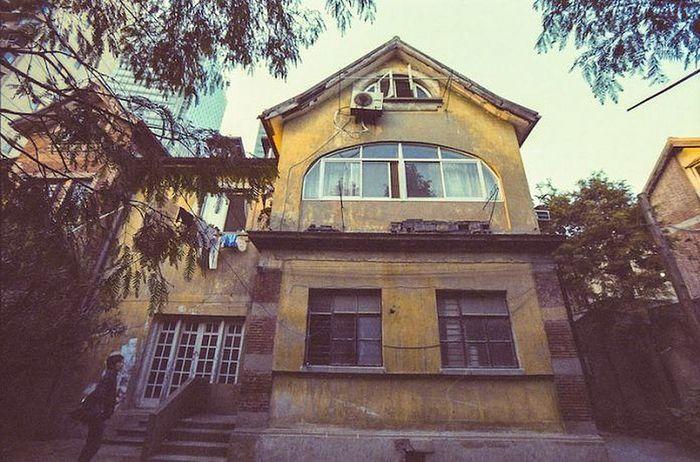 Здание бывшего Ольгинского приюта в Шанхае