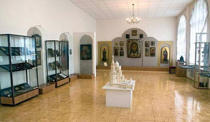 Зал Самарского епархиального музея