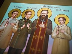 Hieromartyr Paul Dernov and 3 sons canonized in Tatarstan (+ VIDEO)