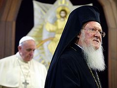 Pat. Bartholomew refuses pan-Orthodox council about Ukraine because of failure of Crete council