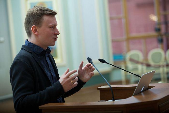 Научный сотрудник Общецерковной аспирантуры Андрей Владимирович Шишков