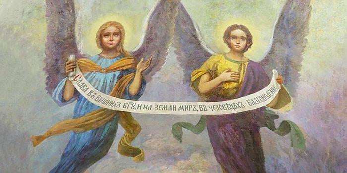 Уникальные росписи восстановили в столичном храме XVII века