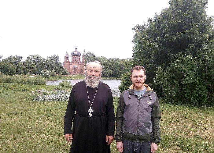 С отцом Владимиром