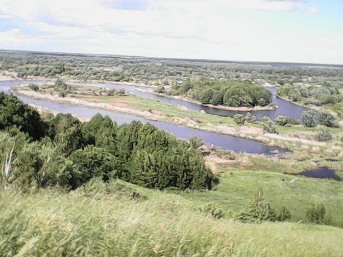 Вид на реку Ворону