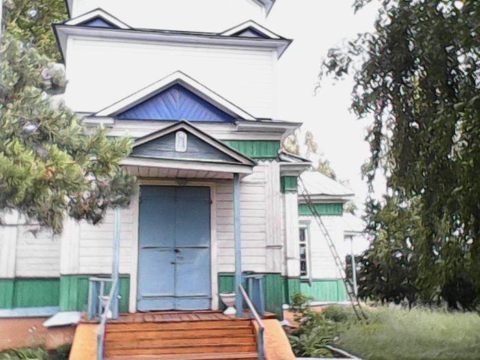 Покровская церковь в селе Ольховка