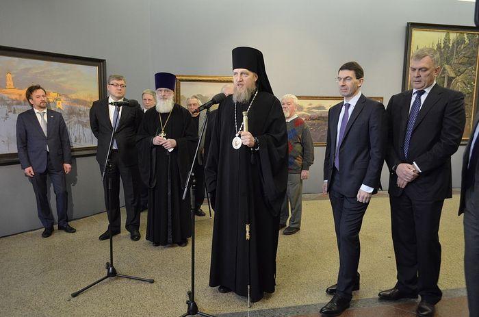В Храме Христа Спасителя открылась выставка «Святая Гора и сокровенная Россия»