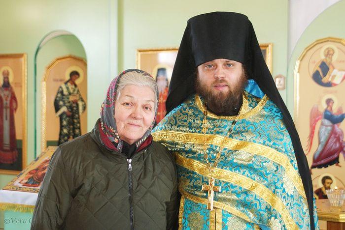 Иеромонах Далмат и Екатерина Тимофеевна Малецкая