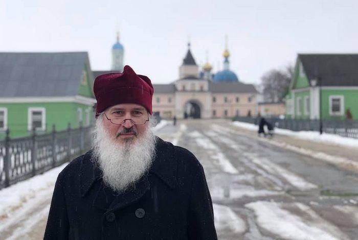 Fr. John at Optina Monastery