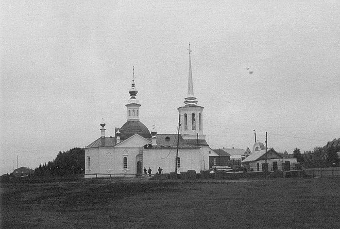 Березовская Богородицерождественская церковь после реставрации. 2003 год