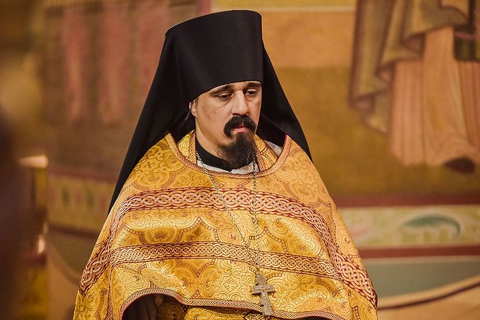 Иеромонах Макарий Флорес, насельник Донского монастыря в Москве
