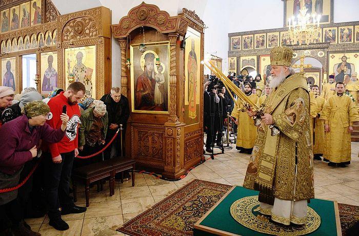 Святейший Патриарх Кирилл освятил московский храм Сорока Севастийских мучеников в Спасской Слободе